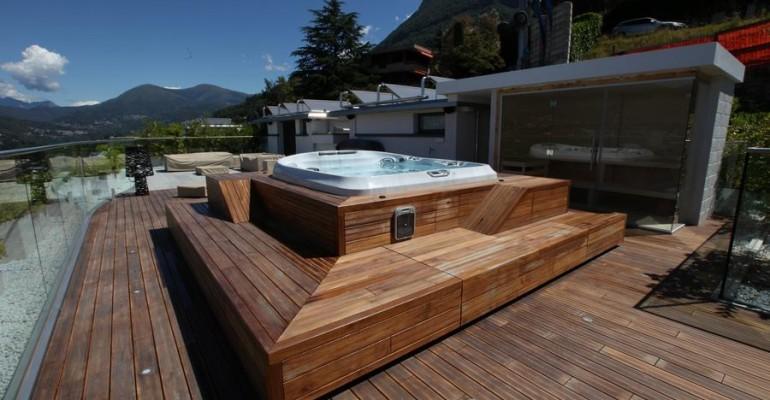 Spa project for a private Villa