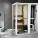 Combined Sauna, Shower and Turkish bath System