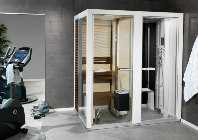 Combined Sauna, Shower and Turkish bath System 2