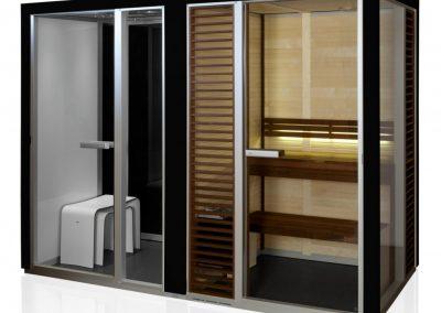 Combined Sauna, Shower and Turkish bath System 1