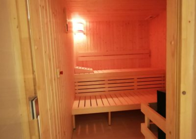 Sauna and steam room Dubai