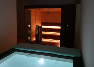 Private Jacuzzi and sauna SPA