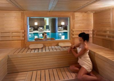 Sauna interno