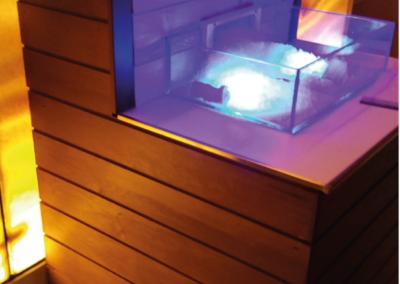 cascata ghiaccio 2 per stanza relax