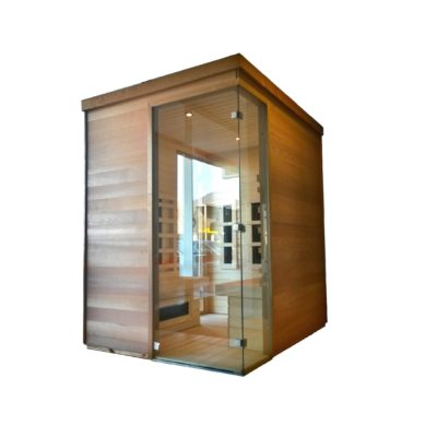 custom made infrared sauna