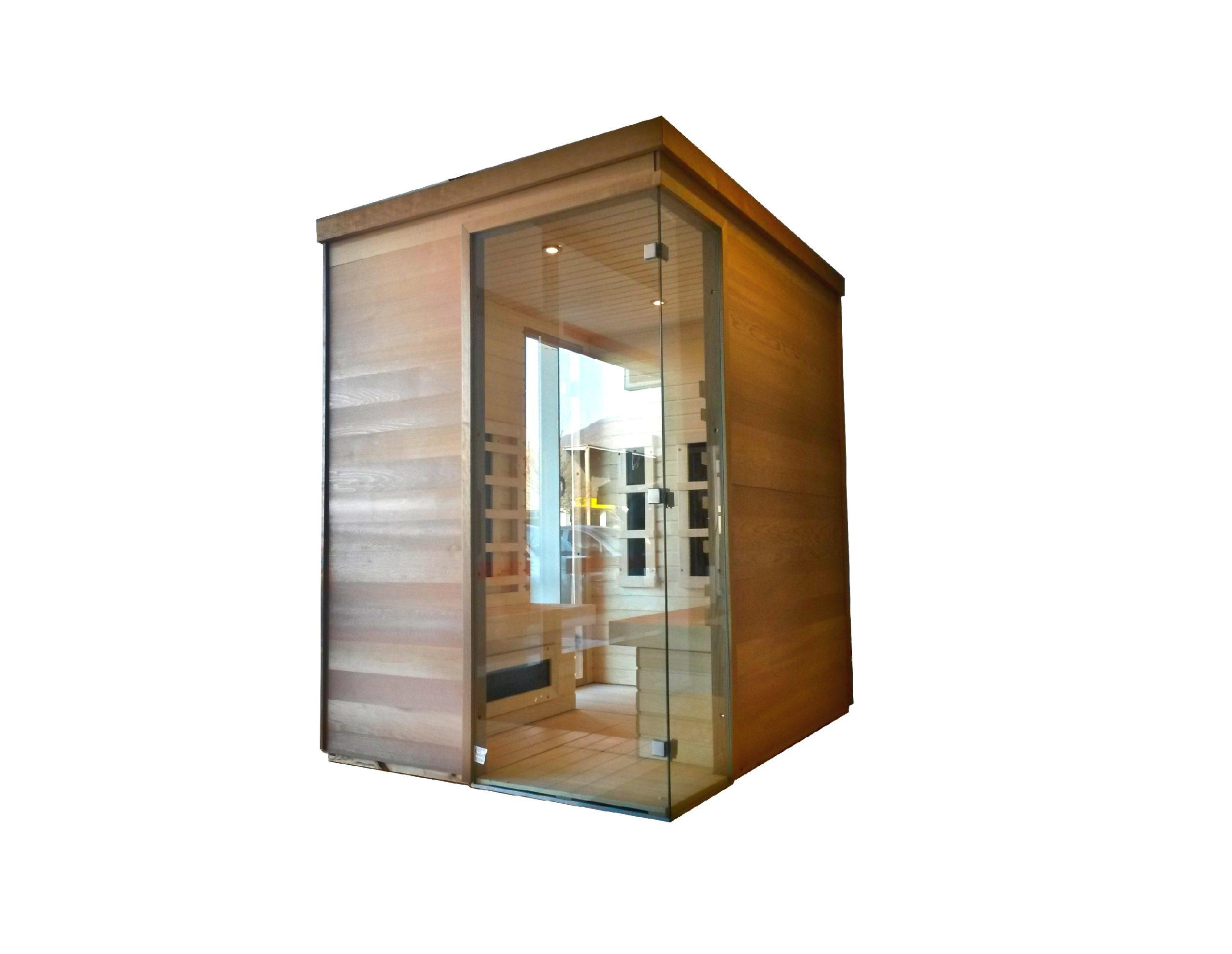 custom made infrared sauna