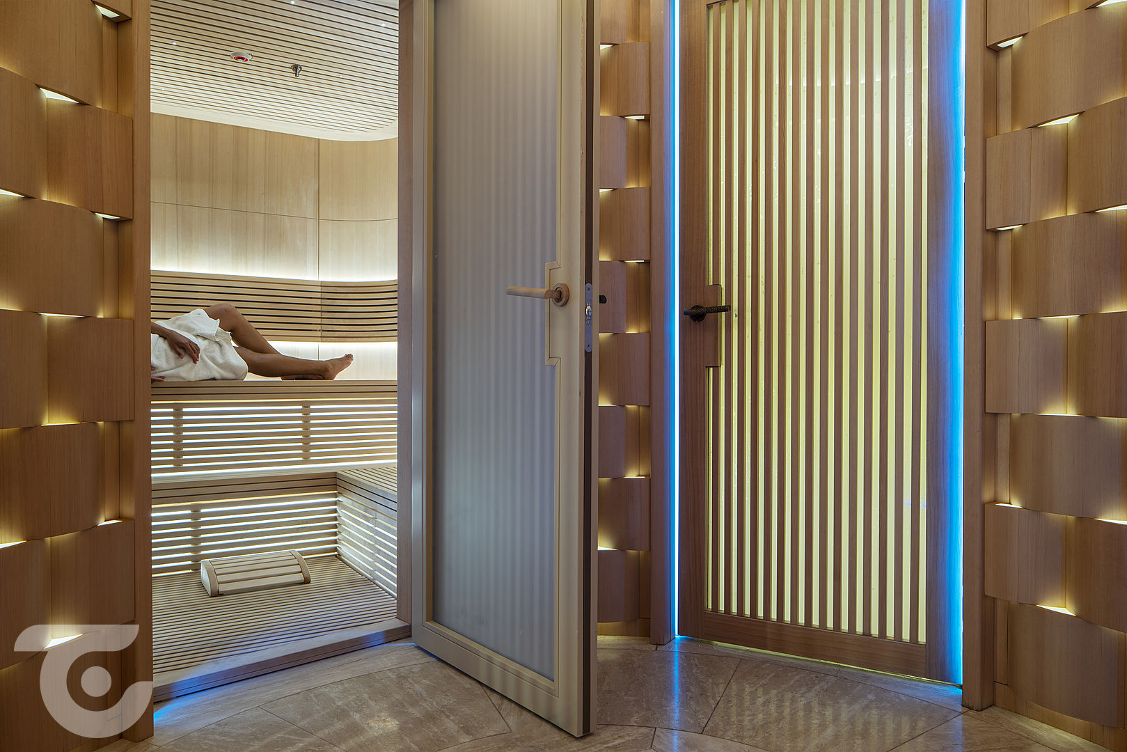 yacth sauna