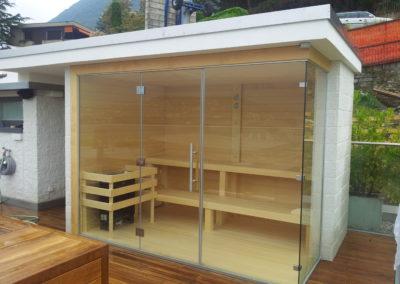 Sauna con scossalina 1